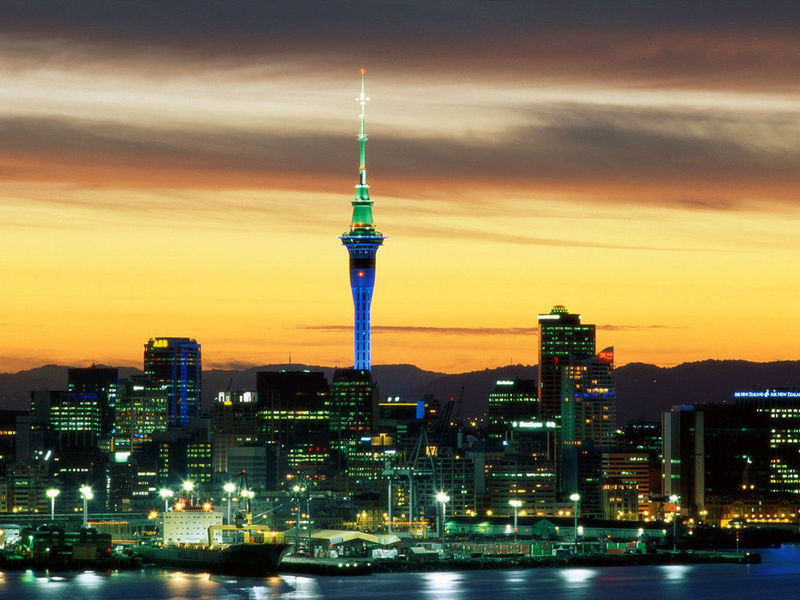 New Zealand Voyage Free Screensaver